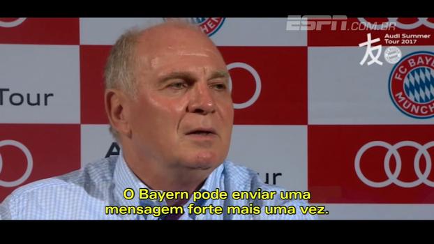 Presidente do Bayern vê excesso em gastos dos clubes como sinal de 'fraqueza': 'Sinal de que o trabalho não foi bom'