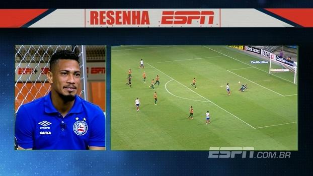 Hernane comenta narração emocionante de gol contra o Sampaio Corrêa: 'Broca, Brocador!'