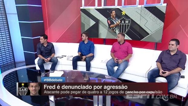 Comentaristas do Bate Bola analisam possível ausência de Fred do resto do Mineiro