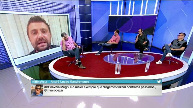 Para advogado, multa de Fred com Atlético-MG é 'válida'
