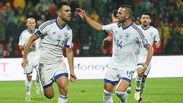 Com golaço, Israel vence Albânia e segue na cola da Itália a Espanha