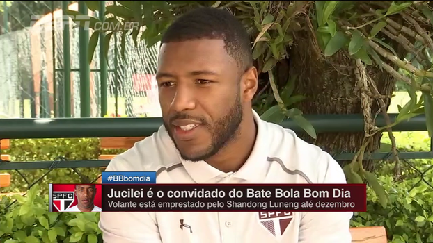 Jucilei reitera vontade de ficar no São Paulo e fala do futuro: 'Seria um prazer jogar ao lado de Kaká'
