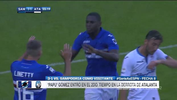 Sampdoria vence Atalanta em casa e encosta na Roma na tabela