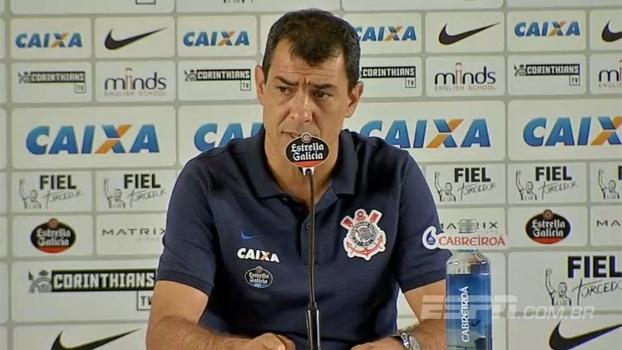 Carille diz que Corinthians manterá entrega e organização: 'Estamos voltando a formar uma família'