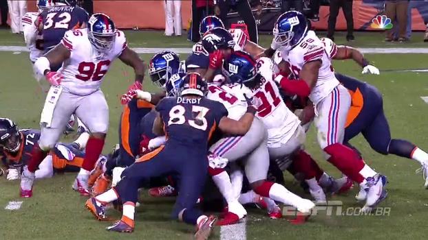Assista aos melhores momentos da vitória dos Giants sobre os Broncos por 23 a 10!