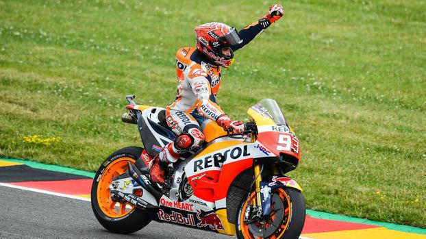 Marc Márquez vence pela 8ª vez consecutiva no MotoGP da Alemanha; veja