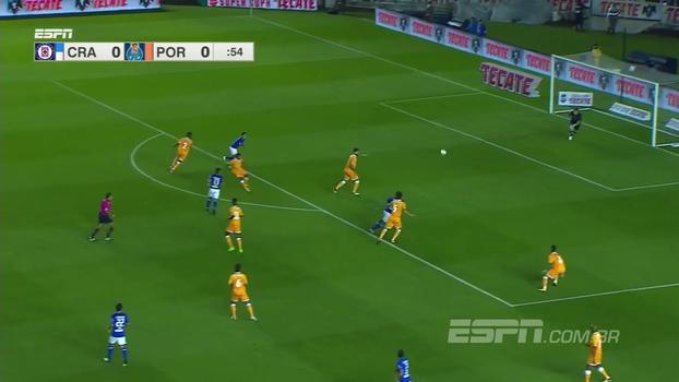 Veja os melhores momentos do empate entre Cruz Azul e Porto