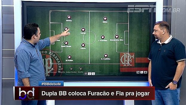 Leonardo Bertozzi e Alê Oliveira escalam Flamengo e Atlético-PR; veja como ficou