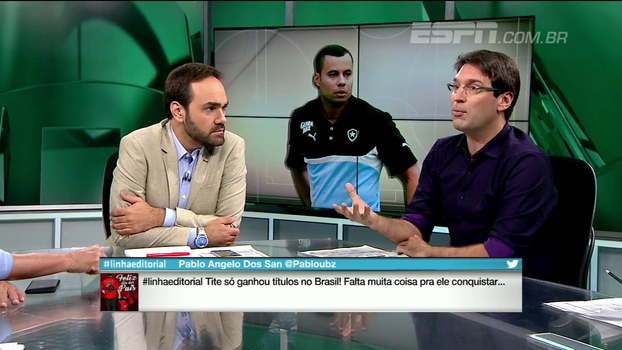 Arnaldo Ribeiro: 'Cada vez mais eu acho simbólica a declaração do Jair Ventura'