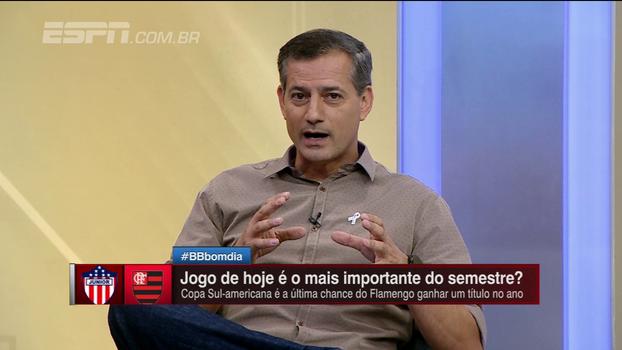 Sálvio diz que estádio de Barranquilla favorece time que está atacando; entenda o motivo