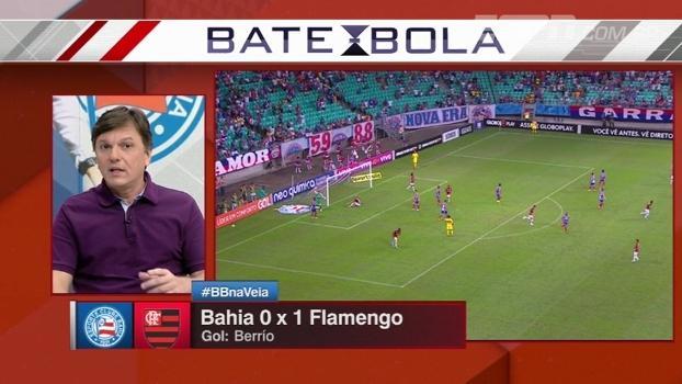 Mauro critica pífia atuação do Flamengo contra o Bahia com 10 homens