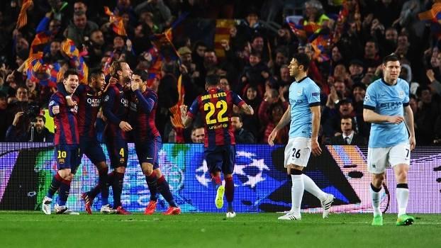 Resultado de imagem para Manchester City x Barcelona