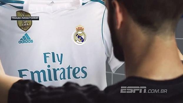 Galáticos de manto novo! Veja as novas camisas do Real Madrid