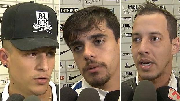 Arana: 'Um pênalti errado não vai me abalar'; Rodriguinho explica porque não bateu