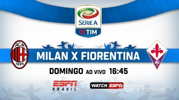 Milan x Fiorentina pelo Italiano: domingo, às 16h45, na ESPN Brasil e no WatchESPN