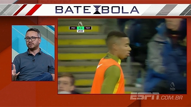 Para Maurício Barros, 'Jesus tem o estilo talhado para a Premier League'