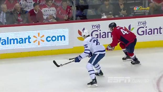 Pela NHL, Toronto Maple Leafs vence Washington Capitals fora de casa