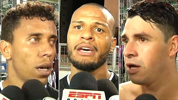 Marcos Rocha e Patric lamentam 'erros grosseiros'; Giuliano vê defesa como 'ponto-chave'