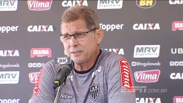 Oswaldo de Oliveira espera 'jogo muito difícil' no Recife: 'O time do Sport é de qualidade'