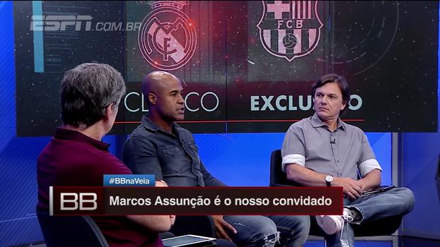 Marcos Assunção diz que ensinou Neymar a cobrar falta e escolhe Marcelinho como batedor favorito