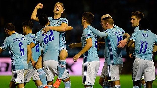 Com gol nos acréscimos, Celta vence o Krasnodar e sai na frente nas oitavas da Europa League