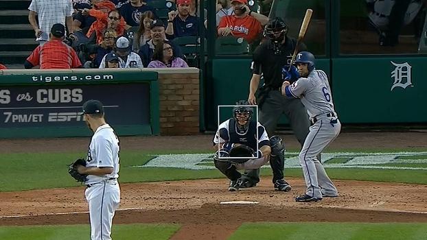 Com home run 'violento' e domínio, Texas Rangers vence o Detroit Tigers por 5 a 2