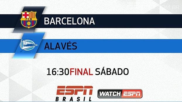 Final da Copa do Rei na ESPN Brasil e WatchESPN! Barcelona x Alavés, neste sábado, às 16:30h
