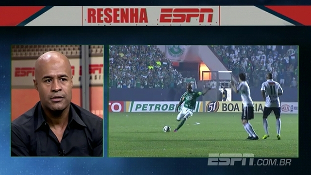 'É gostoso jogar no Palmeiras', diz Assunção ao lembrar de passagem pelo clube