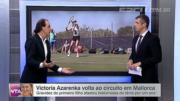 Meligeni destaca retorno de Victoria Azarenka: 'No momento certíssimo'