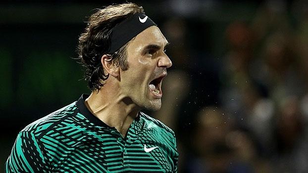Com 3 tie-breaks, Federer vence Kyrgios e encara Nadal no Masters 1000 de Miami