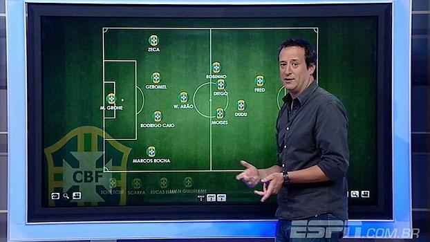 Gian Oddi escala sua seleção ideal para enfrentar a Colômbia
