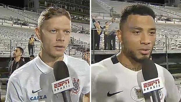 Após goleada sobre Vasco na Flórida Cup, Marlone e Kazim comentam retorno