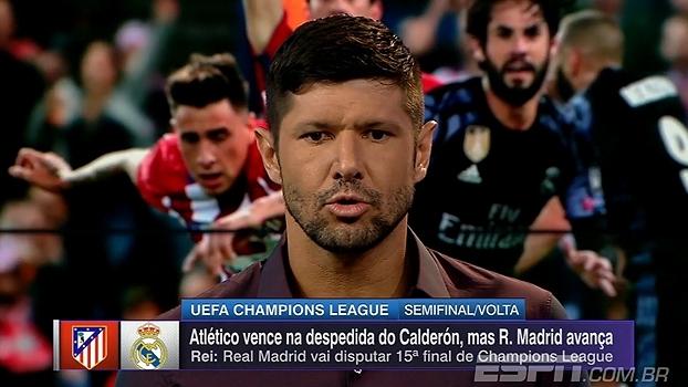 Para Fábio Luciano, defensores do Atlético falharam no gol do Real: 'Deram muito espaço'