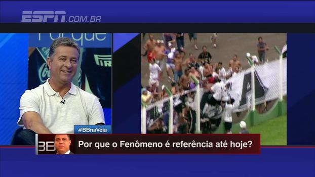 'Dentinho ganhou camisa de Ronaldo após Corinthians x Palmeiras e se emocionou', conta Walmir Cruz