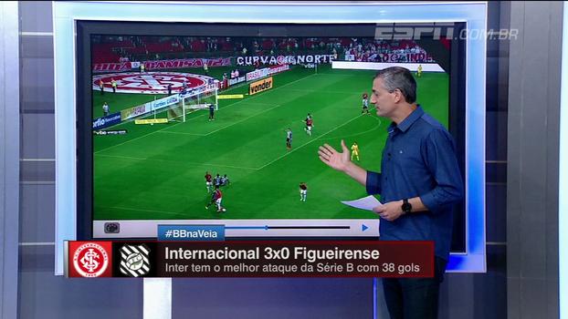Com 'polêmica, curiosidade e didática', Sálvio fala dos lances de Inter x Figueirense; veja