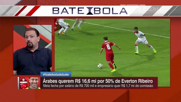 Alê Oliveira analisa qual equipe precisaria mais de Éverton Ribeiro