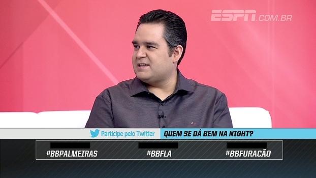 Bertozzi analisa jogos de hoje dos brasileiros na Libertadores: 'Palmeiras tem a obrigação de ganhar'