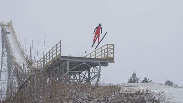 Condenada à demolição, rampa histórica de ski nos Estados Unidos tem despedida digna após 81 anos