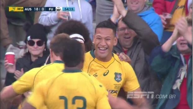 Em amistoso de rugby, Austrália vence Fiji com tranquilidade por 37 a 14