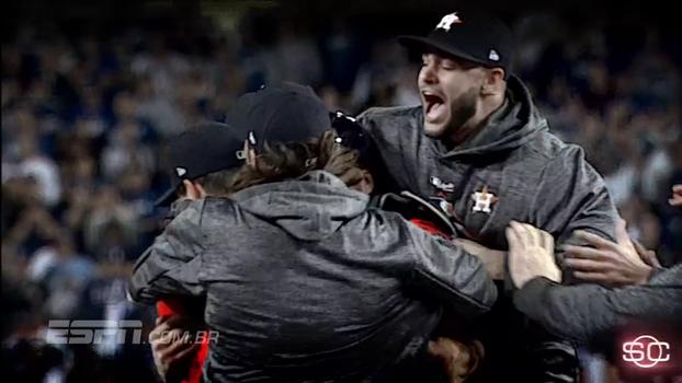 Enquanto Dodgers tem noite decepcionante, Astros são campeões da World Series; confira todos os ângulos do título