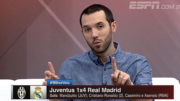 Hofman diz que Juventus se perdeu no segundo gol: 'A ofensividade do Real superou a força defensiva'