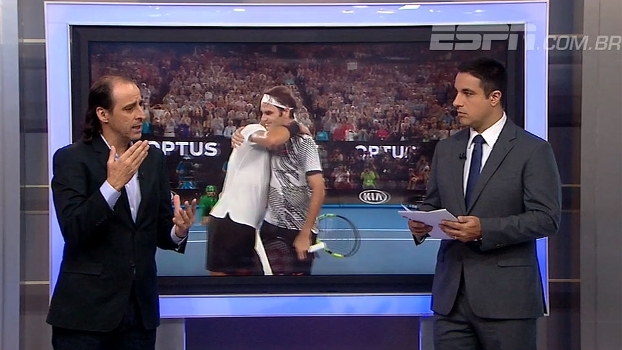 Meligeni vê Federer como um dos mais queridos na história do tênis e comenta sobre futuro do suíço