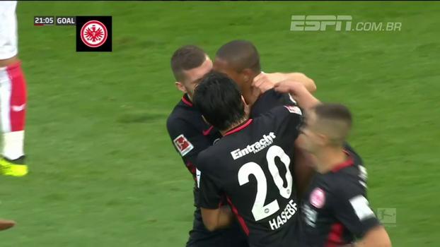 Assista ao gol da vitória do Eintracht Frankfurt sobre o Colônia por 1 a 0!