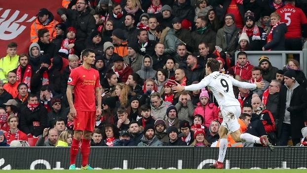 Premier League: Gols de Liverpool 2 x 3 Swansea