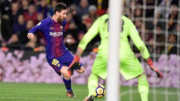 Lionel Messi tentou muito, mas passou em branco em vitória do Barcelona sobre o La Coruña