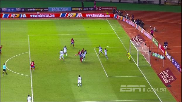 Assista aos gols de Costa Rica 1 x 1 Honduras