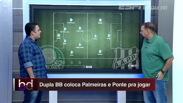 Bertozzi e Alê Oliveira escalam times ideais de Palmeiras e Ponte para o jogo de volta