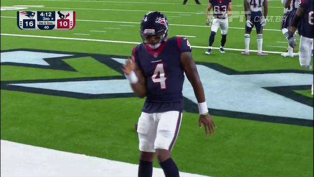 Brady aparece bem, mas combo Savage-Watson dá vitória aos Texans sobre os Patriots na pré-temporada
