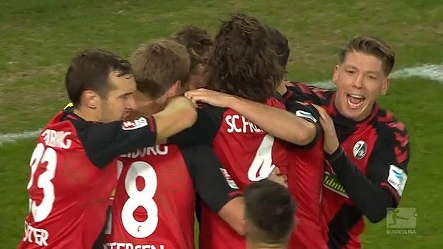 Assista ao gol da vitória do Freiburg sobre o Darmstadt por 1 a 0!