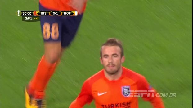 Assista aos gols do empate entre Istanbul Basaksehr e Hoffenheim por 1 a 1!